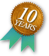 10 Years of providing fast, reliable, affordable web hosting